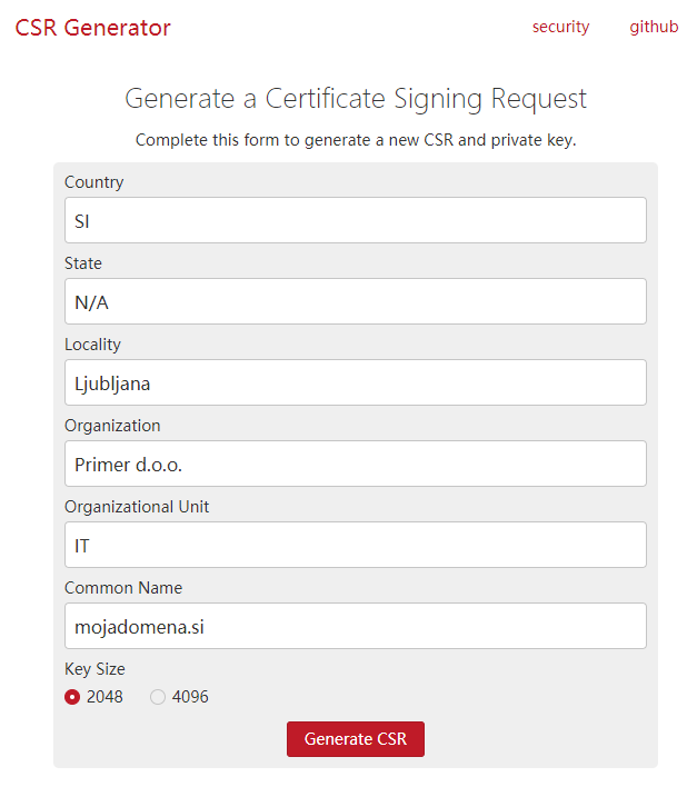 ssl-certifikat-generiranje-csr